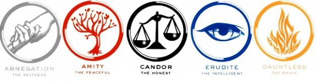divergent factions symbols